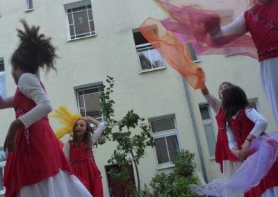 Unser Tanz Projekt bei den Kiez Kids