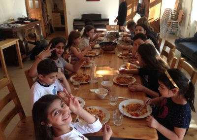 Gemeinsam essen macht Spaß