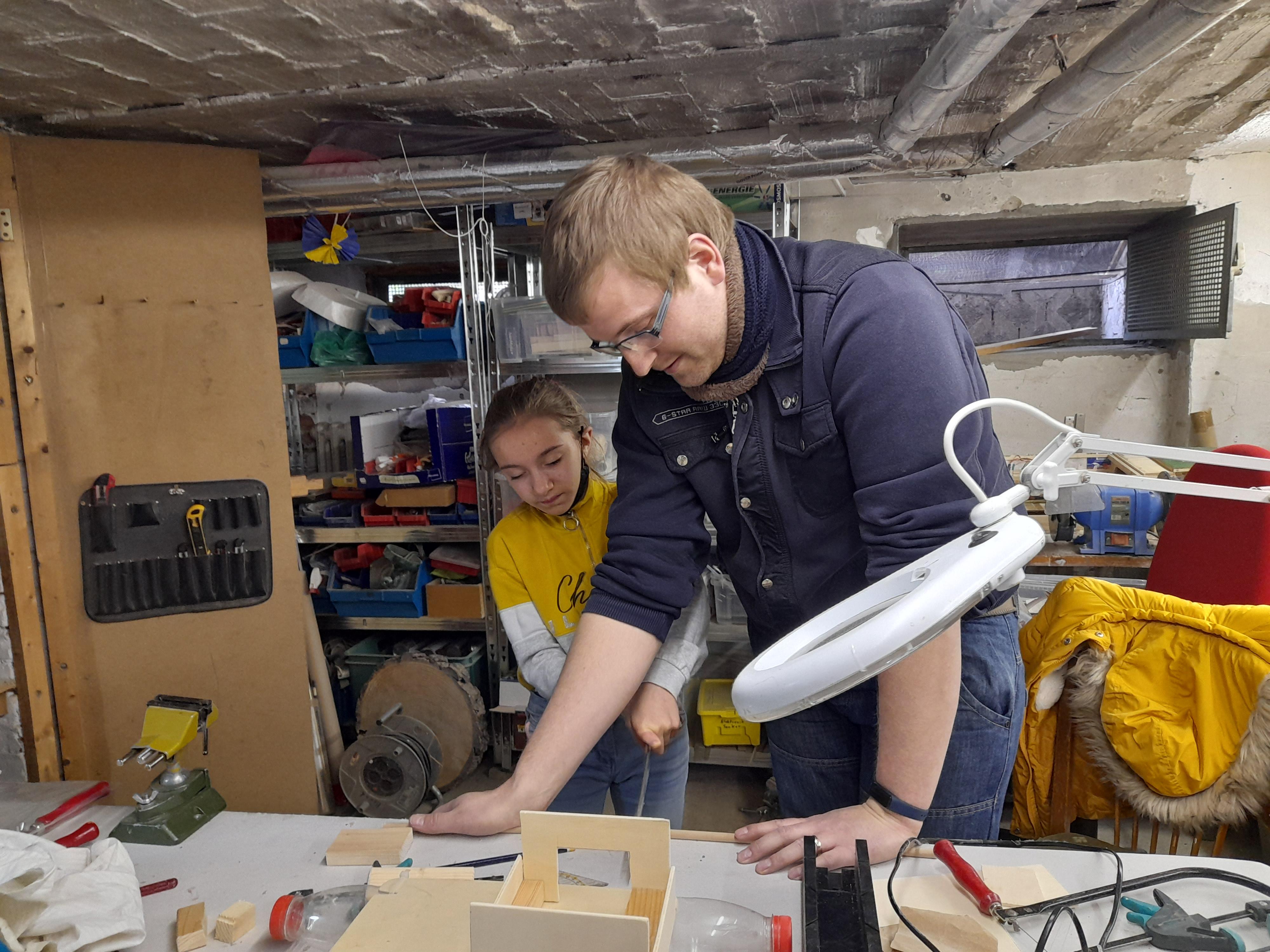 Kiez Kids, Werkstatt, gemeinsames Arbeiten